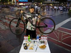 People Around the World Pose With Everything They Eat in a Day