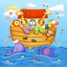 international directory of children's illustrators Noahs Ark Theme, Church Nursery, Christian Humor, Classroom Projects, Happy Pictures, Baby Art, Children's Book Illustration, Art Blog, Art For Kids