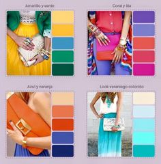 Summer colors palette
