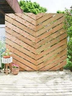 Privacy Fences & Screens You Can Make Yourself