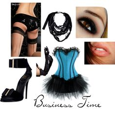 Business Time, created by feellikedancin on Polyvore