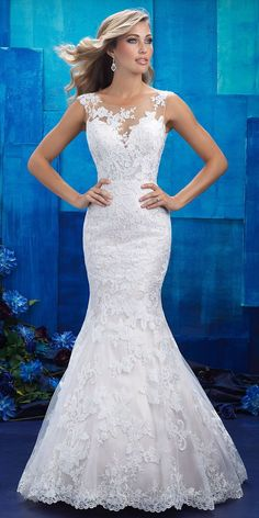 Allure Bridals Spring 2017 Wedding Dress