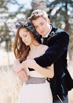 Elegant spring wedding inspiration