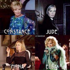Jessica Lange's roles