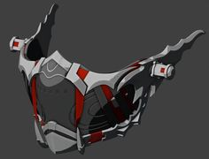 Code Vein mask model] - New ideas Robot Concept Art, Weapon Concept Art, Armor Concept, Star Citizen, Fantasy Armor, Fantasy Weapons, Sci Fi Weapons, Armas Ninja, Futuristic Armour