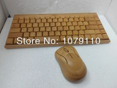 It does not get any sweeter than this.  100% Natural Bamb... :-) http://www.sustainthefuture.us/products/100-natural-bamboo-wooden-handmade-wood-pc-multi-media-function-wireless-keyboard-and-mouse-combo-sku-01501ac2?utm_campaign=social_autopilot&utm_source=pin&utm_medium=pin