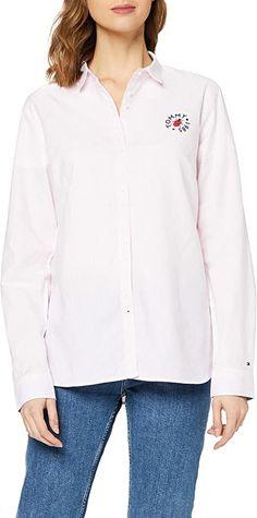 Bekleidung, Damen, Tops, T-Shirts & Blusen, Blusen & Tuniken Tommy Hilfiger Damen, Shirt Bluse, Tops, Summer, Clothing