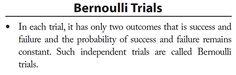 Bernoulli Trials Binomial Distribution, Math Formulas, Math Humor, Entrance Exam, Success And Failure, Statistics, Trials, Good Books, Names