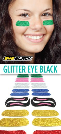 Our glitter eyeblack comes customized for all MLB teams, the 75 most popular colleges, & in 12 dazzling colors. Buy eye black for softball, cheer, & more! Football Cheer, Softball Mom, Fastpitch Softball, Baseball Mom, Lacrosse, Cheer Coaches, Cheer Mom, Cheer Gifts, Softball Pictures