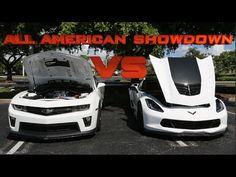 corvette z06 vs camaro zl1