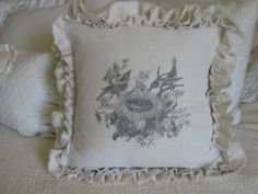 Ticking and Toile: ~ birds in a nest tutorial ~ Image Transfer Tutorial