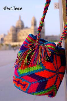 Mini Mochila Wayuu Multicolor - Ethnic wayuu bag  - Boho Syle - ask for the price !!!