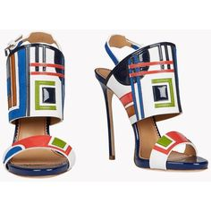 DSQUARED2 Ocean Drive Sandals ($1,080) ❤ liked on Polyvore featuring shoes, sandals, dsquared2 and dsquared2 shoes