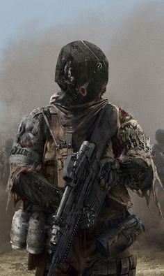 Soldier by MichaelSchneider