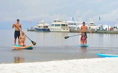 What better way to work off those breakfast yums than with some #ecosploring via paddleboard in the Choctawhatchee Bay!? #SouthWalton