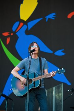 Jackson Browne performs live on the Pyramid Stage during Day 3 of the Glastonbury Festival on June 26, 2010 in Glastonbury, England. This year sees the 40th anniversary of the festival which was started by a dairy farmer, Michael Evis in 1970 and has grown into the largest music festival in Europe. - Glastonbury Music Festival: 40th Anniversary - Day 3