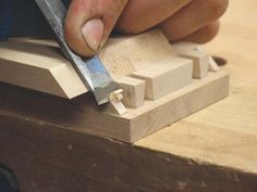<strong>Finer Details:</strong> A twist on the original, mitred-through dovetails allow you to shape an edge without interruption. They are also strong and beautiful.