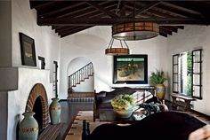 Perfect Diane Keaton's Spanish Colonial Revival-Style Mansion – Living Room The post Diane Keaton's Spanish Colonial Revival-Style Mansion – Living Room… appeared first on Decor Designs .