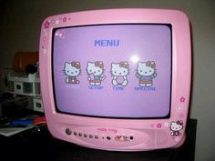 A cute little kitty and bow ~ hello kitty ~ retro ~ aesthetic ~ Vaporwave, Alluka Zoldyck, Retro Aesthetic, Soft Grunge, Aesthetic Pictures, Wall Collage, Pastel Pink, Pastel Goth, Sanrio