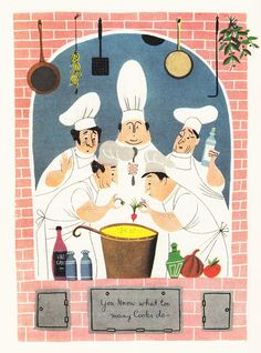 Culinary Advice from James Beard, Illustrated by the Provensens | Brain Pickings