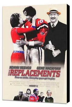 The Replacements. Keanu Reeves.