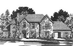 Plan W15386HN: Traditional, European, Luxury House Plans & Home Designs