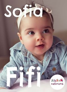 Baby names with the CUTEST nicknames Baby Girl Nicknames, Names With Nicknames, Cute Nicknames, Baby Girl Names, Kid Names, Sofia Name, Popular Girl Names, Vintage Baby Names, Baby Kids
