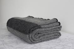 Amana Woolen Mill US Army Civil War Blanket in Gray Woolen Mills 036f24ee9