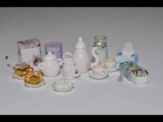 Чайный набор (кукольная миниатюра). - YouTube