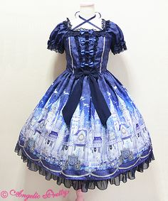 Angelic Pretty Castle Mirage OP « Lace Market: Lolita Fashion Sales and Auctions