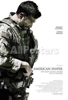 American Sniper People Masterprint - 28 x 43 cm