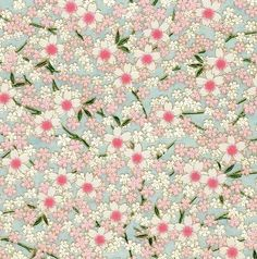 ...pink dot flower pattern