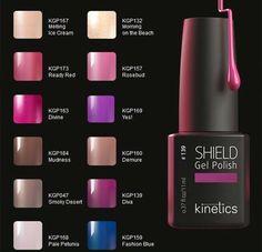 Wybierz swój odcień hybrydy SHIELD od Kinetics na jesień!