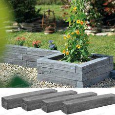 Landscape Edging - The Home Depot Best Rooftop Bars, Landscape Edging, Garden Features, Back Gardens, Garden Planning, Garden Beds, Backyard Landscaping, Gardening Tips, Planters
