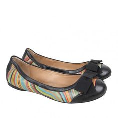 Paul Smith Shoes Womens Black Lucern Swirl Travel Ballerina Pumps Ballerina Pumps, Cute Flats, Paul Smith, Mary Janes, Sneakers, Travel, Clothes, Black, Viajes