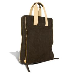 Drumcree Nubuck Tote Black, $315, now featured on Fab.