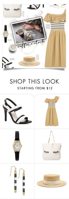 """City Lights, Charlie Chaplin (1931)"" by agla83 ❤ liked on Polyvore featuring Sea, New York, Timex, Whiteley, Kate Spade, GE, Kapten & Son and Filù Hats"