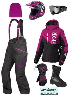 Black Klim Allure Womens Ski Snowmobile Bibs 2X-Large