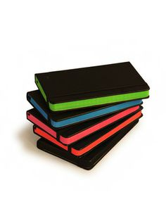 Notebooks, Color-Dipped Edges, Small