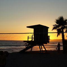 Taken:Del Mar Beach,  San Clemente, California!  Amazing Sunset!  06/26/12