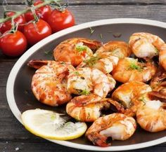 Preparing a shrimp recipe is your ticket to a delicious and quick dinner to satisfy your cravings! For see more of fitness life images visit us on our website ! Shrimp Recipes, Cravings, Seafood, Healthy Eating, Yummy Food, Meals, Dinner, Fitness Life, Life Images