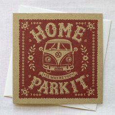 Campervan Card | Alexandra Snowdon