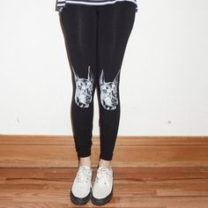 "I wish they had these ""Fancy - Doberman Leggings by Wowch"" as St. Bernards!"