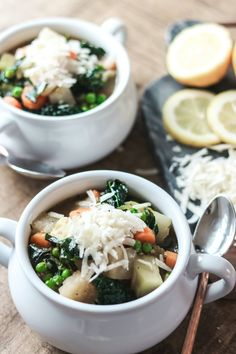 Spring Vegetable & Quinoa Soup recipe courtesy of Bailey Rae of Bailey Rae's Kitchen | Image: Bailey Rae's Kitchen