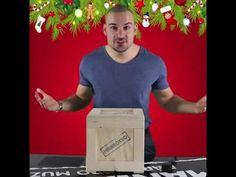 Manboxeo - Dárky pro muže - Páčení dárku z Dřevěné bedny!