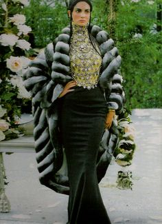 John Galliano for The House of Dior,  Autumn/Winter, 1997, Haute Couture if I only idd part o fit here is the whole thing and ill take it all naturally