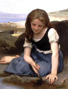 William-Adolphe Bouguereau, The Crab