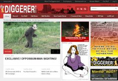 Todd Carpenter launched The Diggerer on April 1. The site has gained popularity in recent weeks when readers believed its satirical news stories, including one about a statewide ban on drive-through windows, were true.