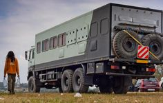 Free² Expedition Trailer, Expedition Vehicle, Cool Rvs, Mercedes Truck, Bug Out Vehicle, Off Road Camper, Cool Campers, Truck Camping, House On Wheels