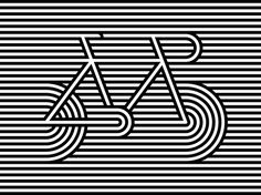 Allan Peters, associate creative director at Target, has won pretty much every award on the planet for poster design. Here, he shares 10 poster design tips. Op Art, Graphisches Design, Logo Design, Bike Poster, Speed Art, Illusion Art, Art Graphique, Grafik Design, Optical Illusions